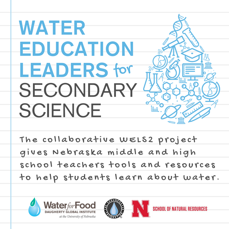 Water Education Leaders for Secondary Science (WELS2) | Cory T Forbes